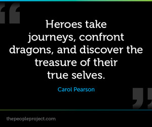 dragons, heroes, and quote image