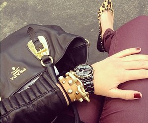 bag, girl, and nails image