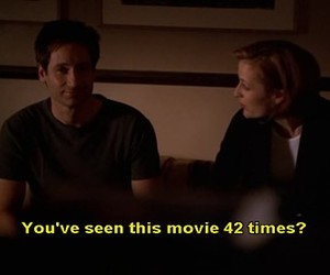 dana scully, fox mulder, and quotes image