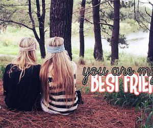 best friend, woods, and ellieroberts image