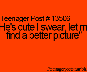cute, teenager post, and funny image