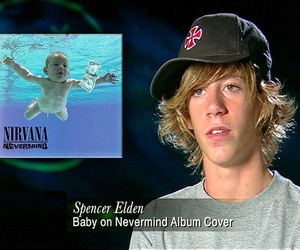 nirvana, baby, and Nevermind image