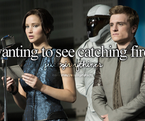 catching fire, hunger games, and just girly things image
