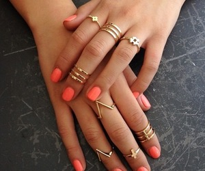 accessories, nail, and swag image