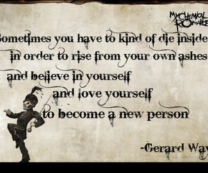 quote, gerard way, and my chemical romance image