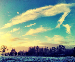 photography, blue, and clouds image