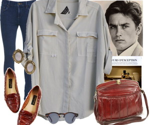 Alain Delon, outfit, and style image
