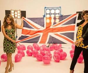 the saturdays, frankie sandford, and vanessa white image