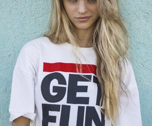 blonde, fun, and skate image