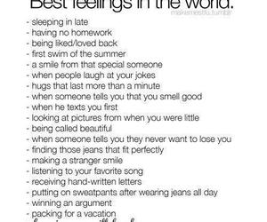 feelings, Best, and quote image