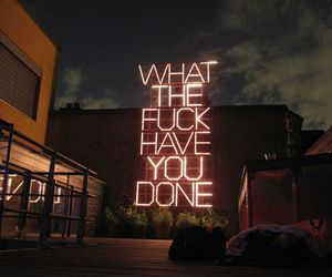 lights, night, and text image