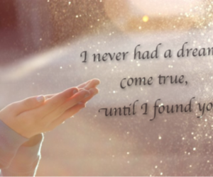 come, dreams, and fairy dust image