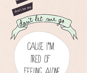 Harry Styles, quote, and alone image