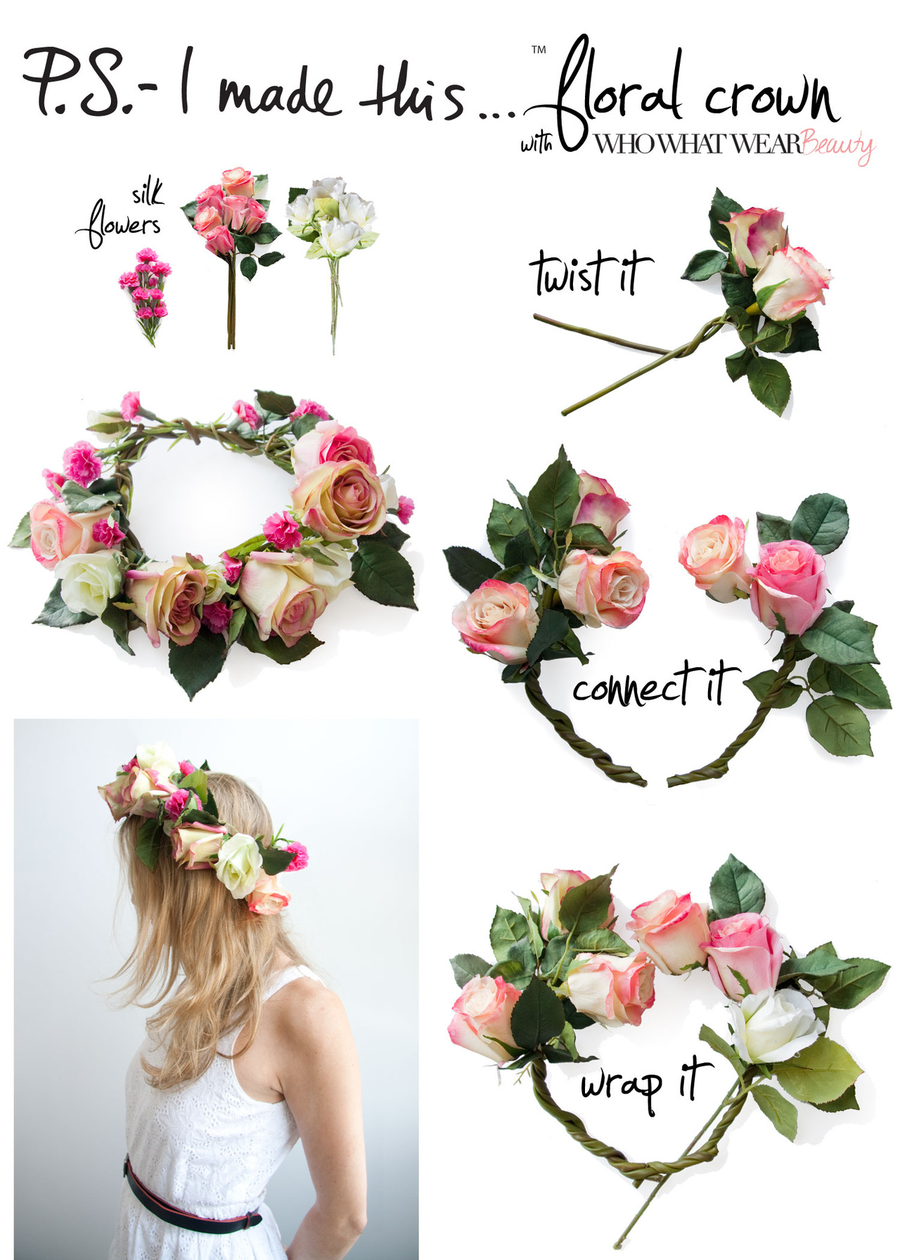 Diy Flower Crowns Discovered By Ggxbrielle On We Heart It