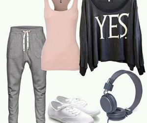 outfit, yes, and clothes image