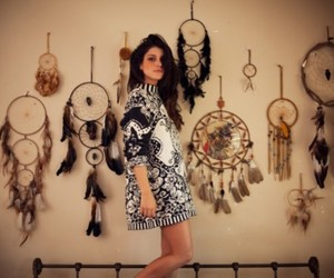 Shenae Grimes, dream catcher, and bed image