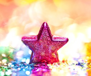 stars, quote, and glitter image