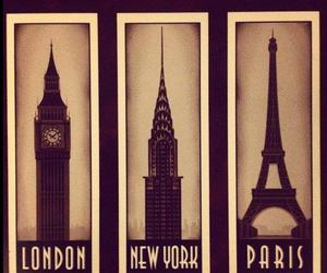 country, eiffel tower, and paris image