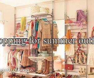 shopping, outfit, and summer image