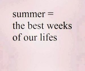 summer, life, and text image