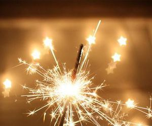 fireworks and star image