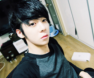 asian, kang hyuk min, and cutie image