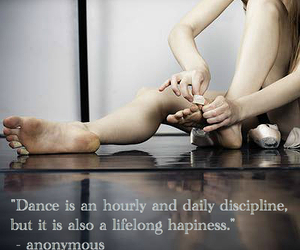 ballerina, quotes, and ballet image