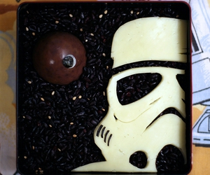 bento, death star, and sesame seeds image