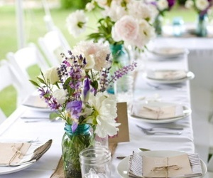 decor, design, and flowers image
