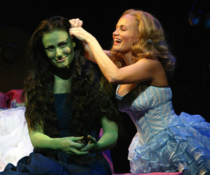 wicked, witch, and elphaba image