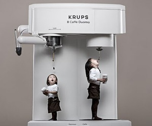 coffee, kids, and funny image