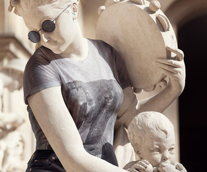 statue, art, and hipster image