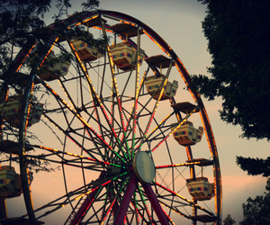 photography, ferris wheel, and fun image