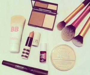 make up and lipstick image
