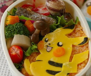bento and pikachu image