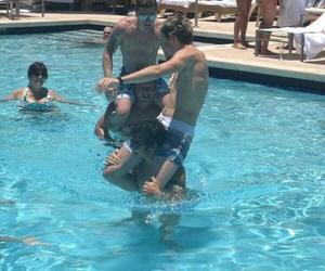 fun, Hot, and pool image