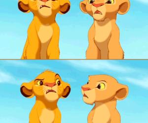 disney, lion, and lion king image