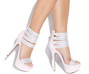 high heels, heels, and shoes image