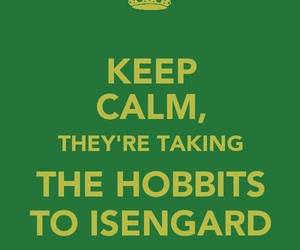 hobbit, keep calm, and lord of the rings image