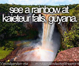 rainbow, guyana, and deck of dreams image