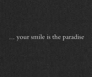 smile, paradise, and love image