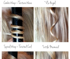 beauty, curly hair, and tutorial image