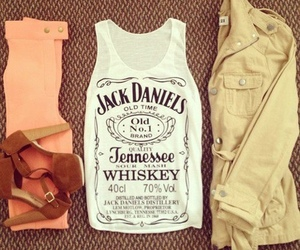 fashion, jack daniels, and outfit image