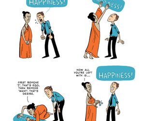 advice, happiness, and desapego image