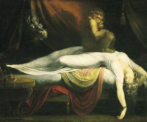 art, nightmare, and henry fuseli image