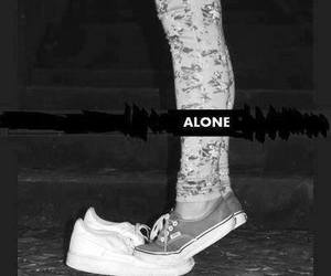 alone, vans, and forever alone image