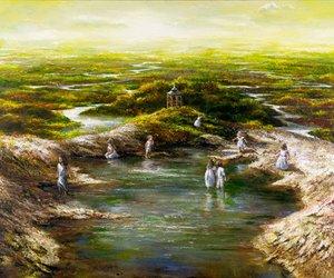 painting and akiane kramarik afbeelding