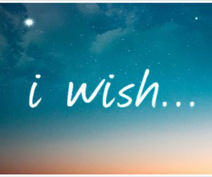 wish, quotes, and sky image
