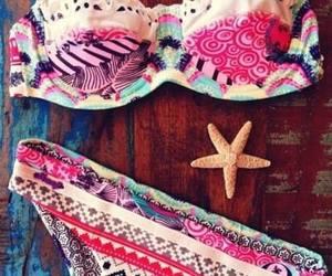 bikini, colours, and summer image