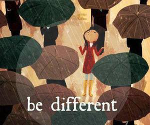 be, different, and original image